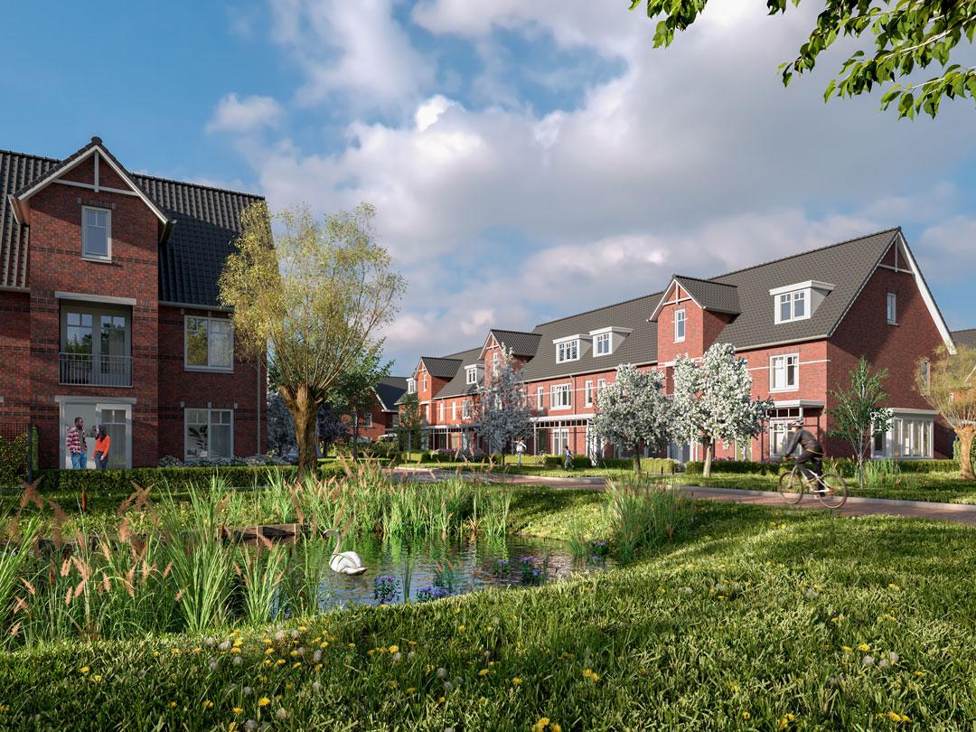 Koopwoningen Hazerswoude Rijndijk - Exterieur Impressie - Westvaartpark